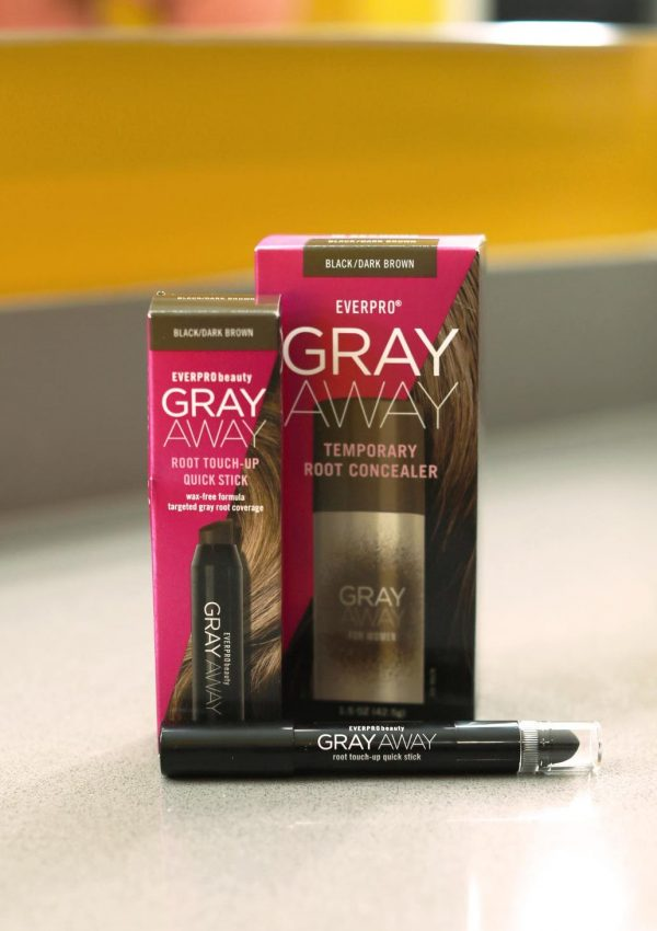 The Best Hack to Cover Up Gray Hair: Gray Away