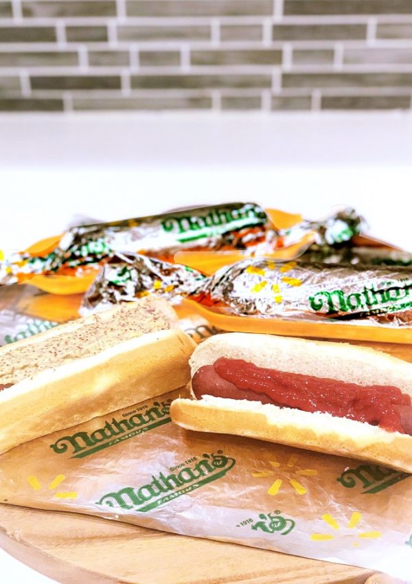 Nathan's Famous Hot Dogs For An Easy Mom Hack