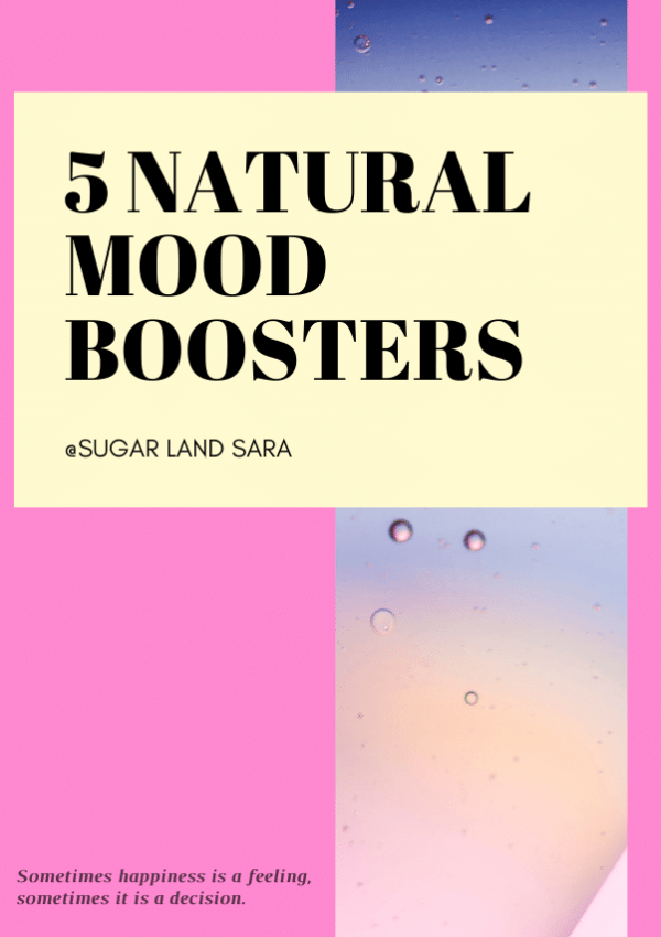 5 Natural Mood Boosters