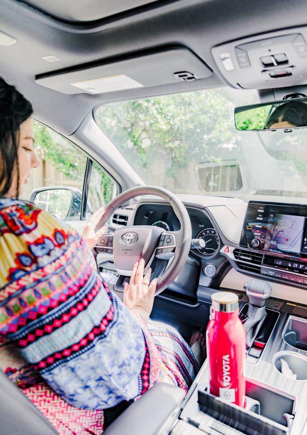 Cruising with the 2021 Toyota Sienna Hybrid Platinum AWD