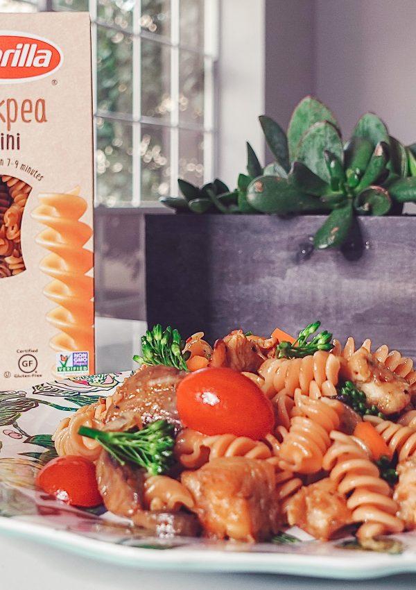 Delicious Barilla® Chickpea Rotini Pasta